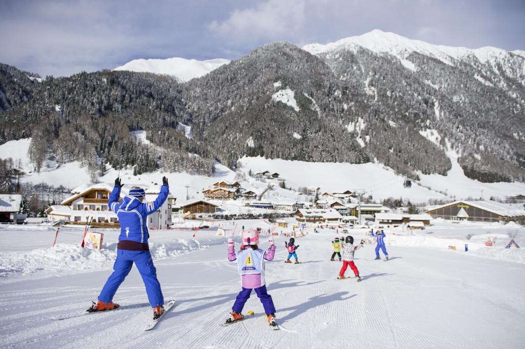 Skifahren mit Skilehrer am Gitschberg