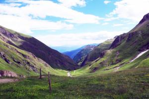 Ausblick von der Brixnerhütte